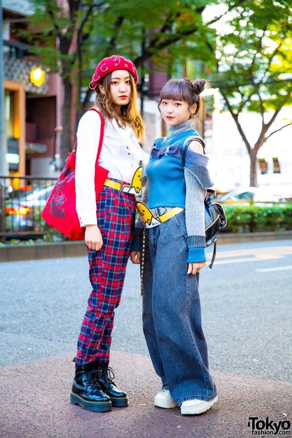 Harajuku Girls Street Styles w/ Vivienne Westwood, Anglomania, UNIF, Dr. Martens, Fenty Puma, MYOB & Faith Tokyo