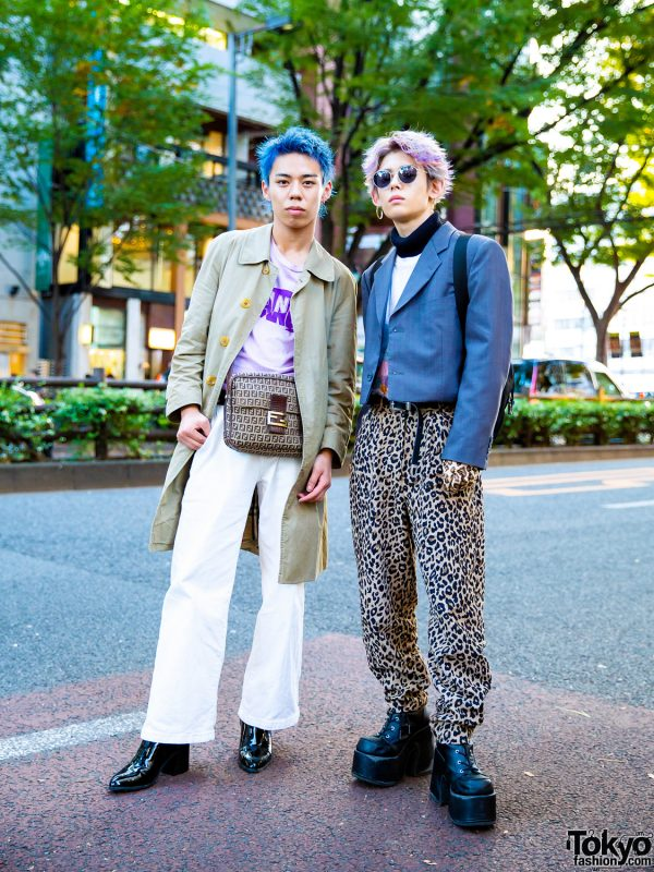 Harajuku Menswear Street Styles w/ Burberry, Fendi, Eytys, Prada, Never Mind the XU, GU & Maison Margiela