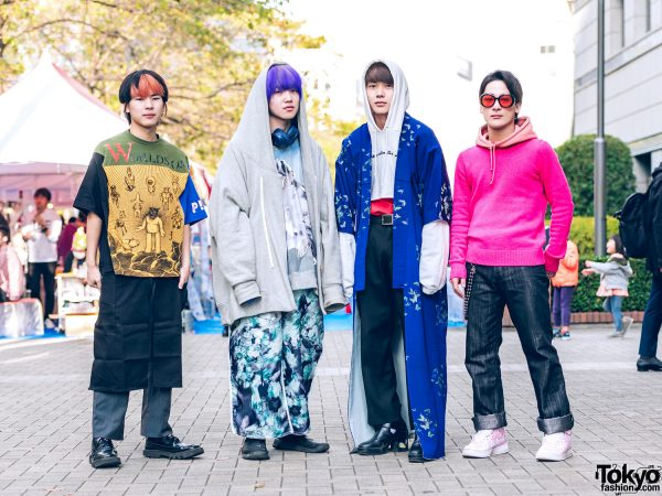 Tokyo Streetwear Styles w/ Balmung, Faith Tokyo, Acne Studios, Walter Van Beirendonck, Tokyo Kagaku, Rombaut & Nike