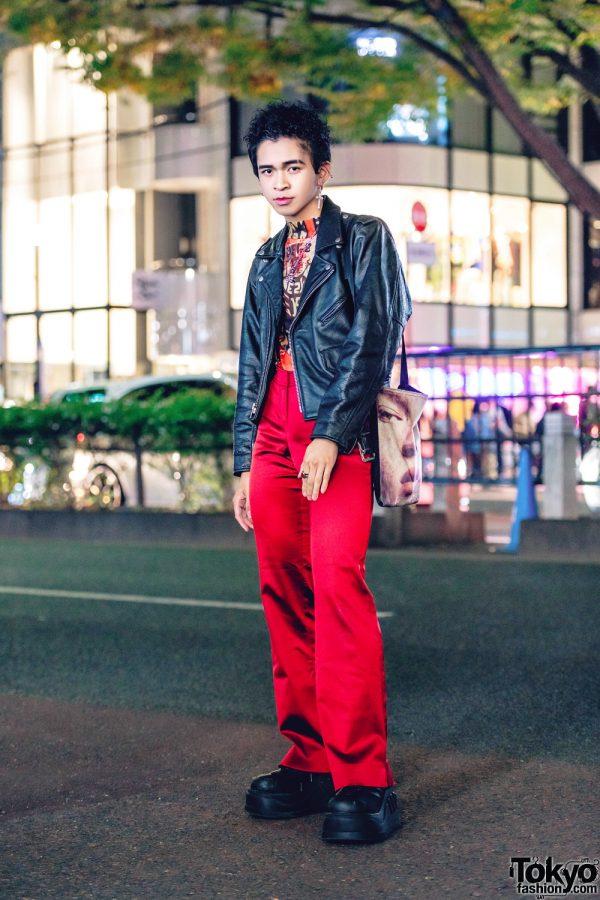 Tokyo Vintage Streetwear Style w/ King Family, MPQ, Demonia, Sevens & Faith Tokyo