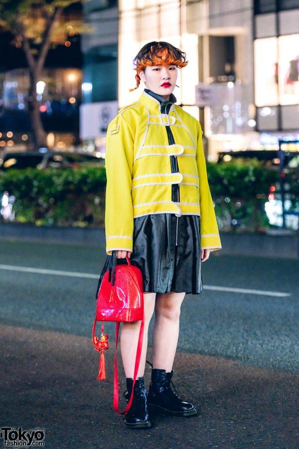 Harajuku Streetwear Style w/ Focus Shimokitazawa Jacket, Pinnap, Nike & Dr. Martens