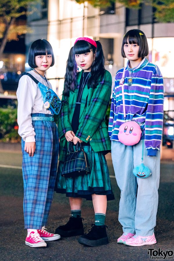 Japanese Womens Street Styles w/ Aymmy in the Batty Girls, Attic Mirror, Tokyo Bopper, Kirby, Syunsoku, Club Sexy, Ganag & Animate