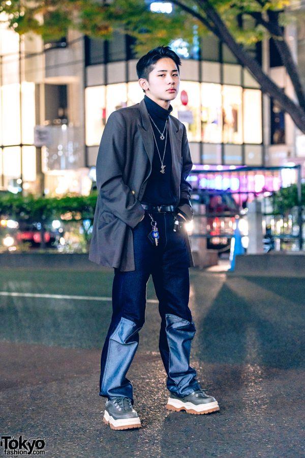 Tokyo Menswear Street Style w/ Burberry, Wrangler, Eytys & John Lawrence Sullivan