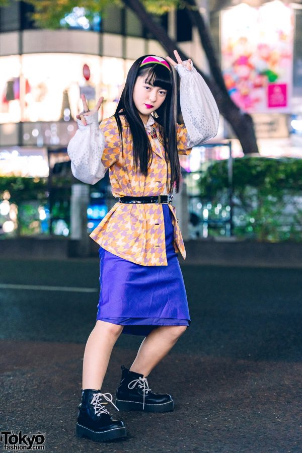 Harajuku Girl in Tokyo Vintage Streetwear w/ RRR Vintage & WEGO