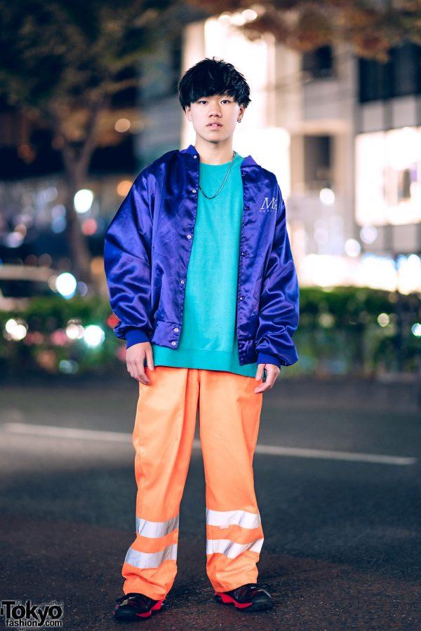 Harajuku Guy in Resale Sporty Streetwear Style