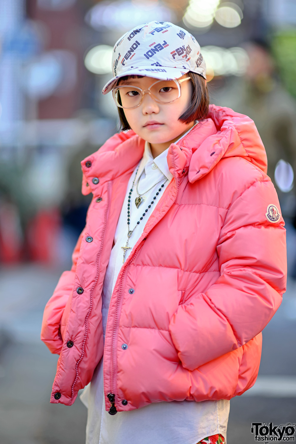 Coco Princess in Harajuku w/ Moncler for Unicef Jacket ...