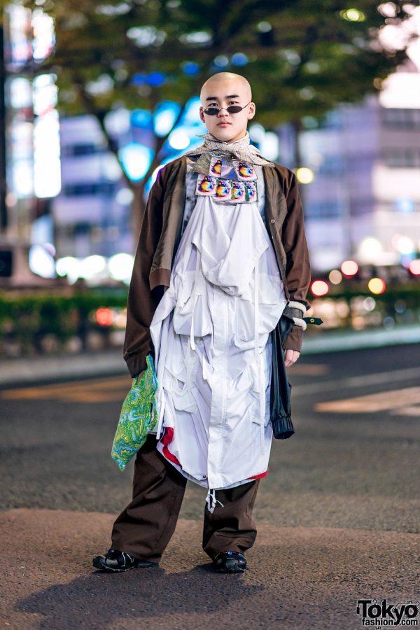 Harajuku Streetwear Style w/ Ifeoma, Alexandra Moura, Vaquera NYC, Madd Lounge & Shirley Maclaine Neckpiece
