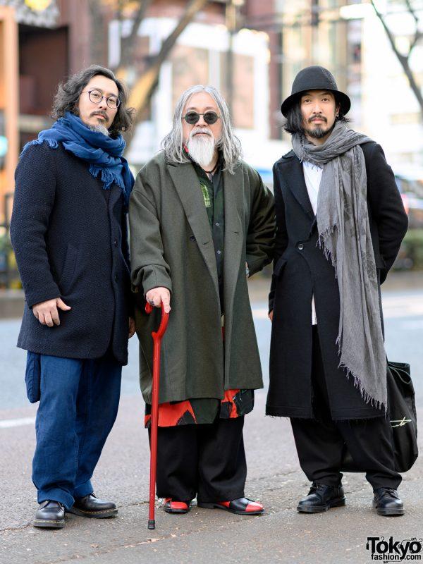 Tokyo Winter Streetwear Styles w/ Yohji Yamamoto, Ground Y, Okura & Dr. Martens