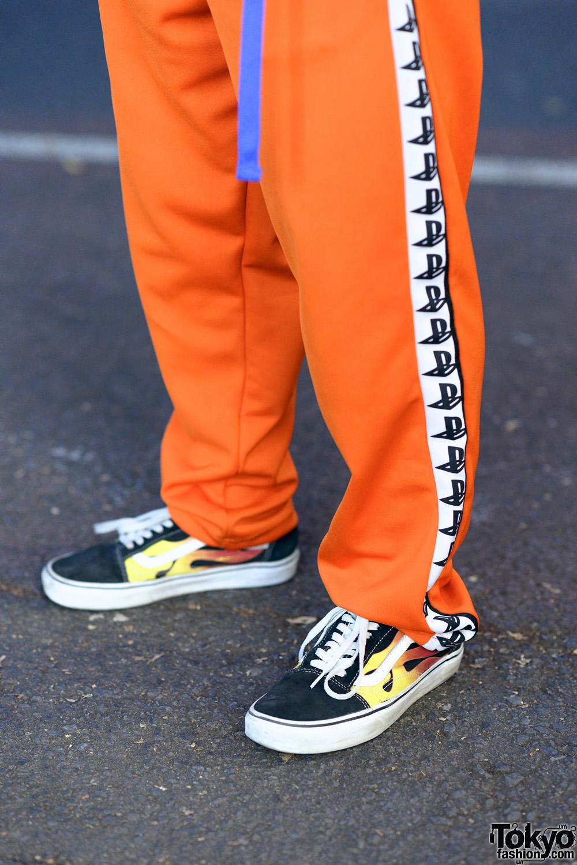 Tokyo Teen Streetwear Styles W Dog Harajuku Pretty Boy Gear Reebok Warp Akira