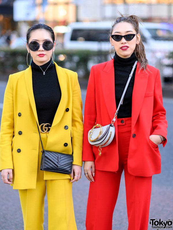 Colorful Women S Suits Styles In Harajuku W Zara Uniqlo