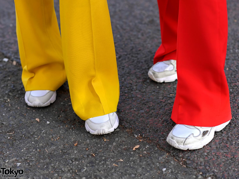 5917f451fffa Colorful Women's Suits Styles in Harajuku w/ Zara, UNIQLO, YSL ...