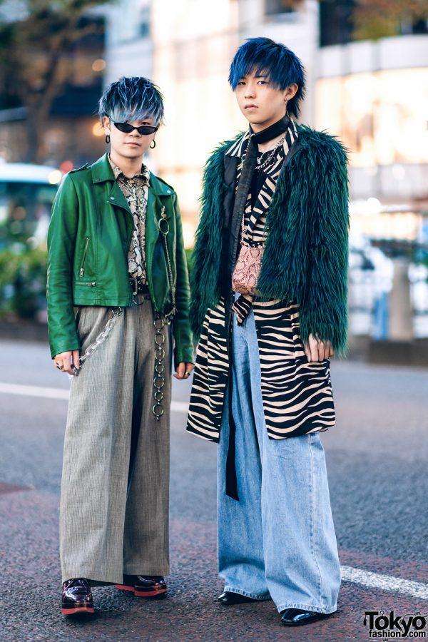 Blue Hair, Faith Tokyo, Bershka, Forever21, Kawi Jamele, H&M, Oh Pearl & Zara Snakeskin Bag