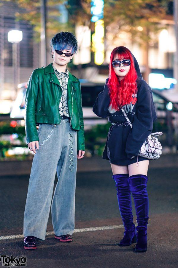 Harajuku Sibling Street Styles w/ BAPE, Kawi Jamele, Faith Tokyo, H&M, Bershka & Guess