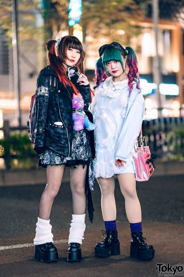Kawaii Harajuku Styles w/ Colored Twin Tails, Sex Pot, Candye Syrup, Ank Rouge, 6%DOKIDOKI, Listen Flavor, Yosuke & Demonia