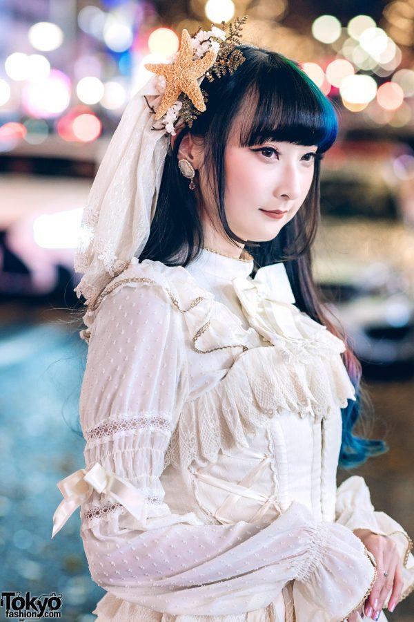 Harajuku Lolita In White Angelic Pretty Dress Amp Starfish