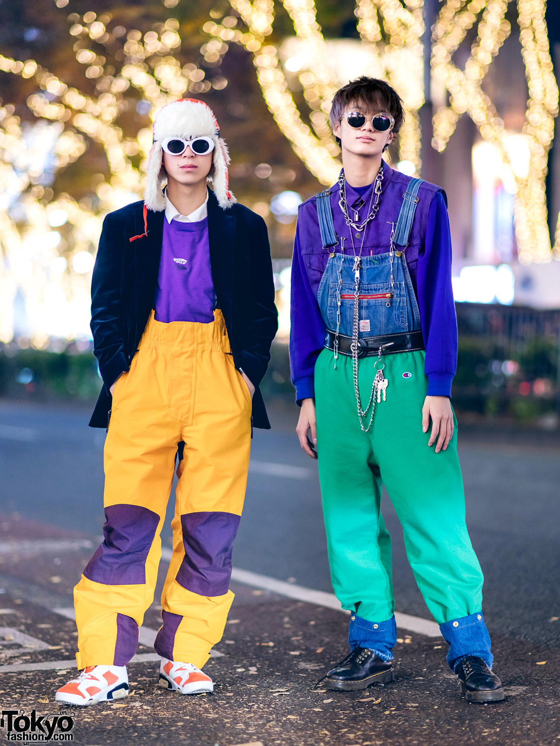 Harajuku Guys Streetwear Styles w/ United Arrows, Ellesse, Vans, Dr. Martens, Levi's, Champion, Jam Home Made & Nike Air Jordans