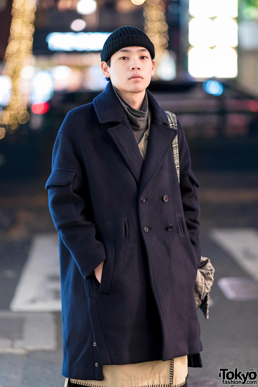 Mens Japanese Street Style W Balenciaga Super Wide Leg