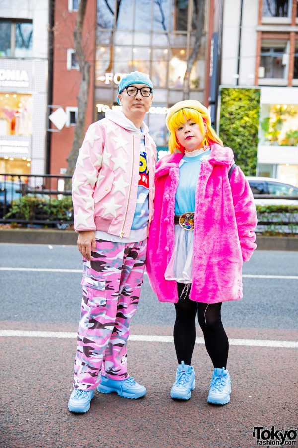 Colorful Harajuku Couple Fashion w/ Joyrich, Pinnap Camouflage Pants, Little Sunny Bite, Joyrich x Toy Story, G2?, Microwave Sweater Dress, Diesel & Fila Sneakers