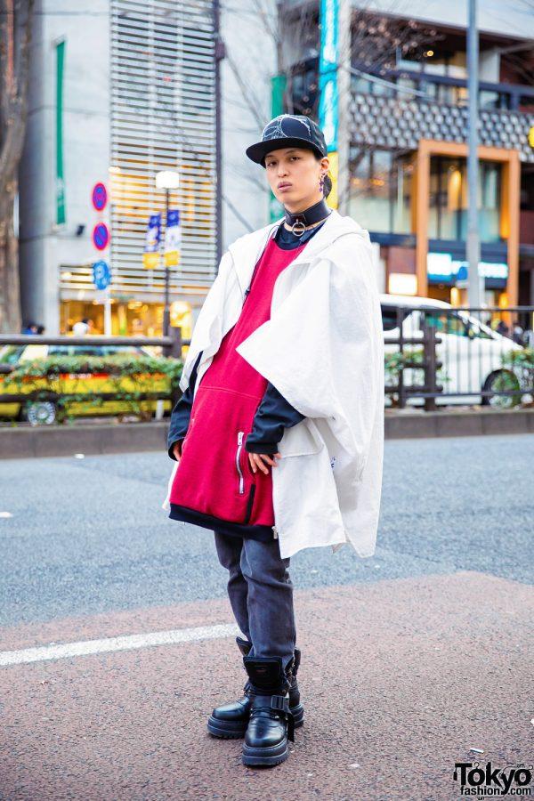 Japanese Streetwear w/ Phire Wire Coat, Asger Juel Larsen Sweater, Coen Jeans, Alice Auaa & Fenty x Puma Boots