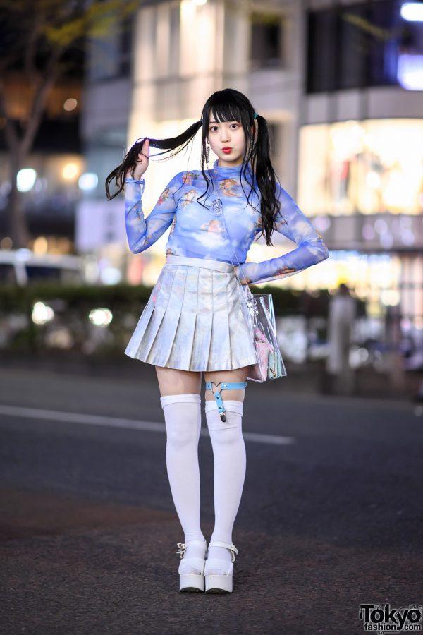 Harajuku Idol In Twintails Romantic Standard Top Spinns