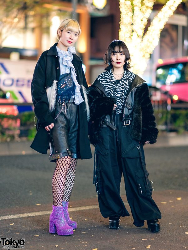 MYOB Fuzzy Coat, Sister Jane, Eastpak, Bubbles, ME Harajuku, Tripp NYC & Current Mood Glitter Boots