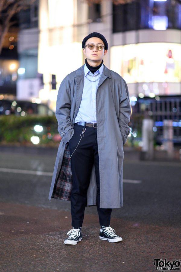 Tokyo Streetwear Style w/ Balenciaga, Converse, Gucci & Vintage Fashion