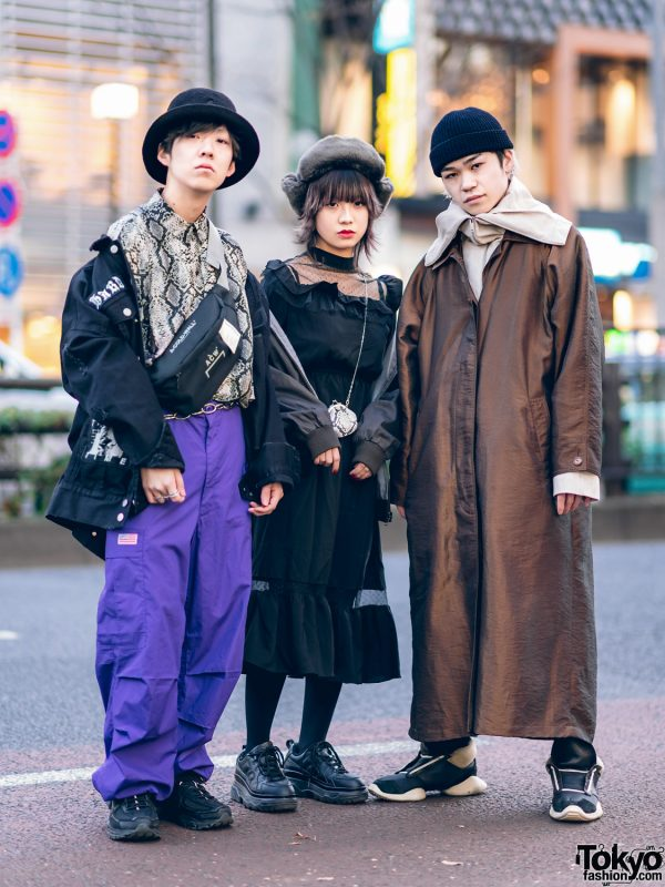 Japanese Streetwear Styles w/ MISBHV, H&M, UFO, A-Cold-Wall, Swankiss, Y's, COS, Chrome Hearts & Rick Owens