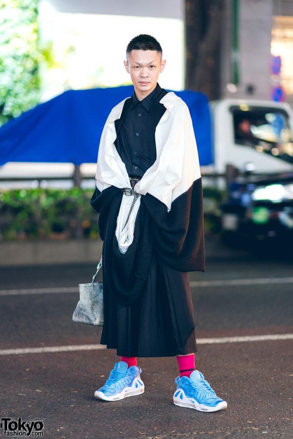 Tokyo Street Fashion w/ Limi Feu, Comme des Garcons, Nike & Yohji Yamamoto