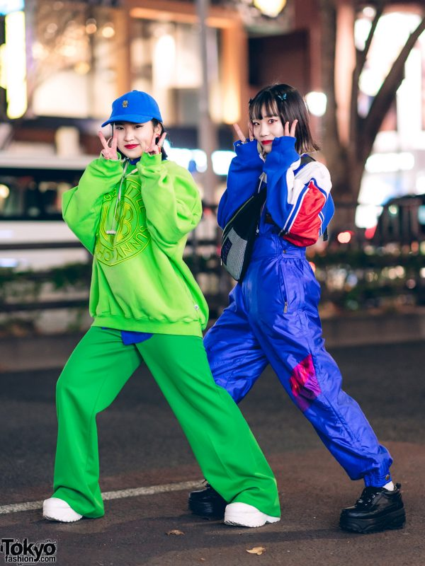 Fun Colorful Harajuku Street Styles w/ Kermit the Frog, Little Sunny Bite, RRR Vintage, Pinnap, Chakuchakuchaku & Yosuke