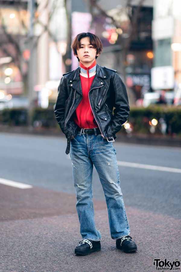 Harajuku Designer Street Fashion w/ Comme des Garcons x Nike & Yves Saint Laurent