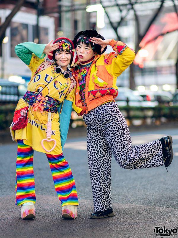 Fun Kawaii Street Styles in Tokyo w/ ACDC Rag, WEGO, Kobinai, Yosuke, Don Quixote, 100-Yen Shop, Village Vanguard & Nile Perch