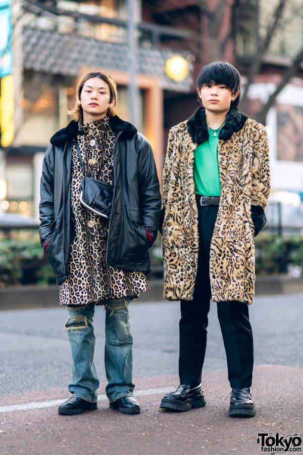 Harajuku Animal Print Streetwear Styles w/ Maison Margiela, Yohji Yamamoto, Acne Studios, Eytys & Oh Pearl