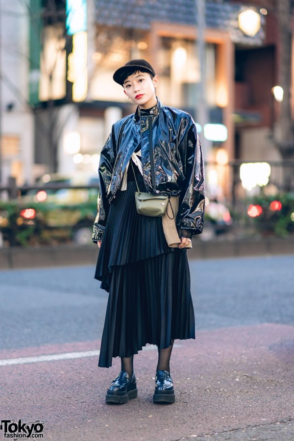 Monochrome Tokyo Street Style w/ Phillip Lim, Chin Mens, John Lawrence Sullivan, Acne Studios, Beams & MM6 Maison Margiela