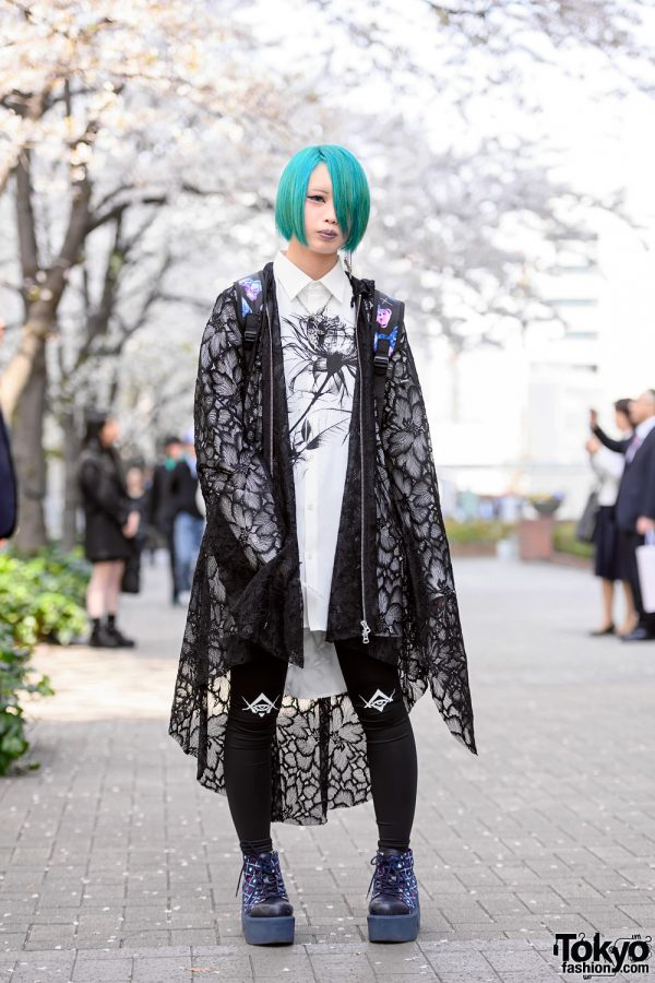Bunka Fashion College Student w/ Green Hair, Civarize Fashion, Deal Design & Yosuke Boots
