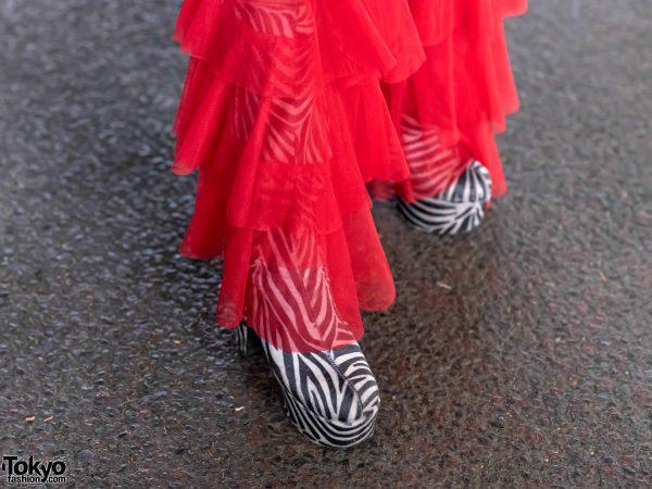 GlamHate Designer in Harajuku Wearing Christian Dior Fashion & Single Sequin Glove 11