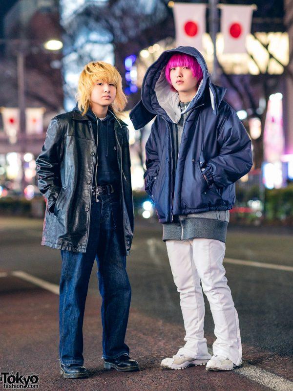 Tokyo Streetwear Styles w/ Chloma, D&G, Hyke, Gap, Champion & Dr. Martens