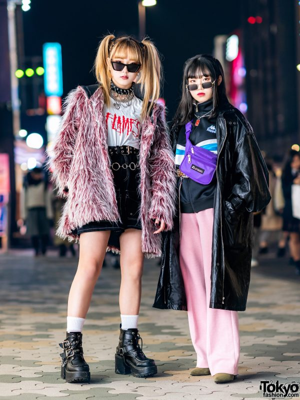 Harajuku Girl Street Styles w/ Drug Honey, (Me), Prada, Dolls Kill, Open The Door, Kappa, Nadia & Vintage Fashion 2