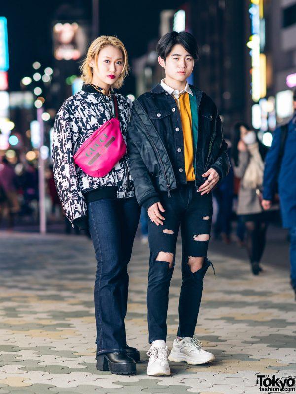 Tokyo Street Fashion w/ Hysteric Glamour, Joyrich, Diesel, Gucci, UNIF, NYS, Union, Pinnap, Brandblack & Never Mind the XU