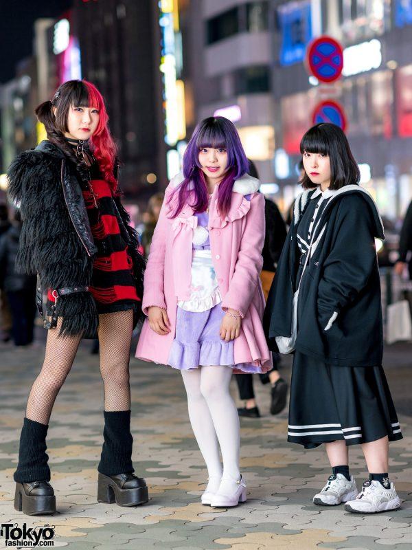Harajuku Girls Street Styles w/ Killstar, Hellcat Punks, Demonia, Angelic Pretty, Nile Perch, Balmung & Kill Remote 3