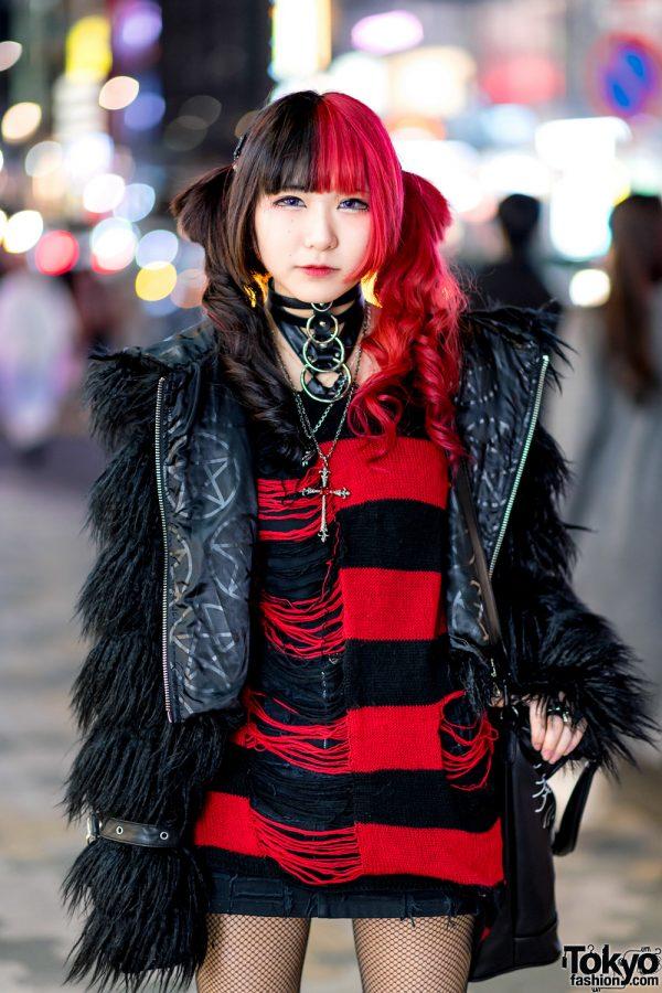 Harajuku Girls Street Styles w/ Killstar, Hellcat Punks, Demonia, Angelic Pretty, Nile Perch, Balmung & Kill Remote 6