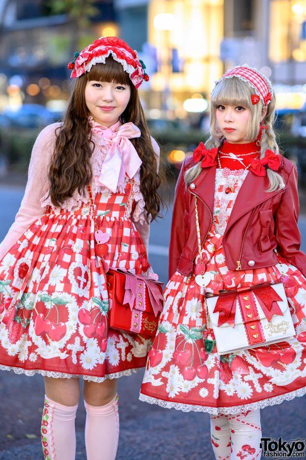 Strawberry Lolita Street Styles in Harajuku w/ Angelic Pretty, Baby The Stars Shine Bright & Queen Bee 3