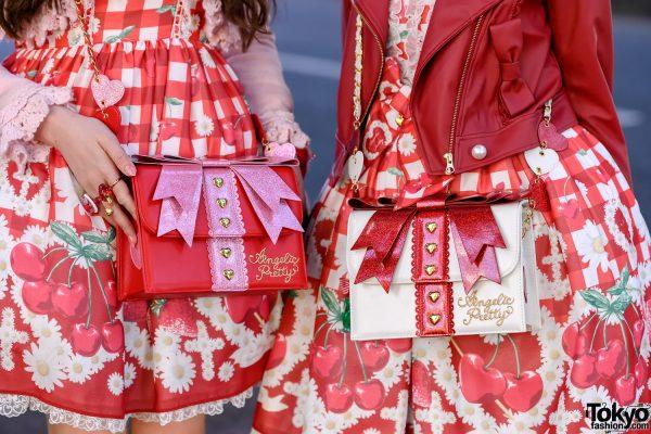 Strawberry Lolita Street Styles in Harajuku w/ Angelic Pretty, Baby The Stars Shine Bright & Queen Bee 4