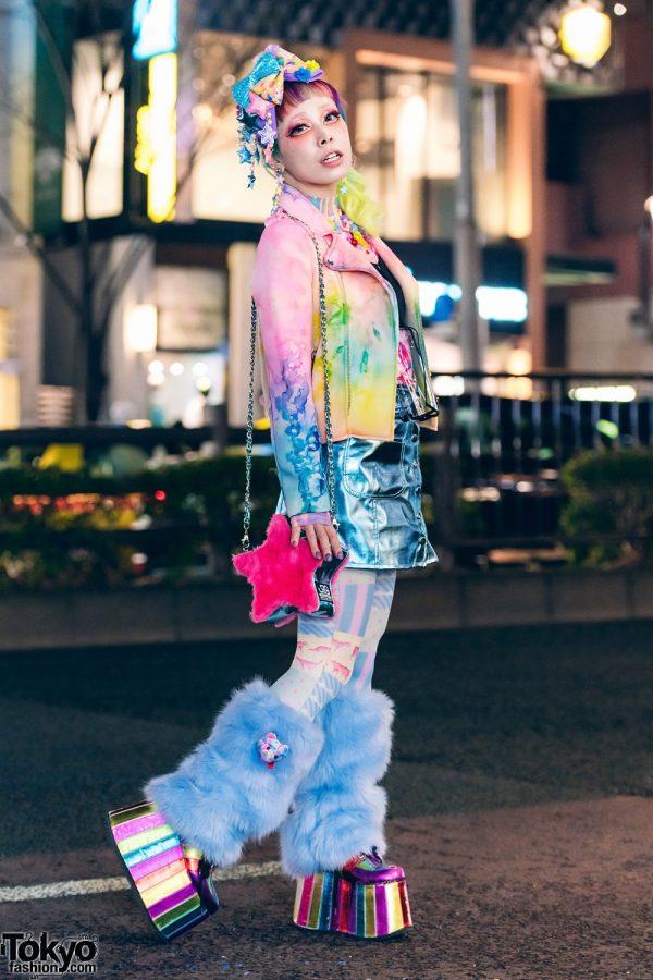Kawaii Colorful Harajuku Street Style w/ UNIF, 6%DOKIDOKI, Horoscopez, Dolls Kill, Sevens, Sugarcranzvivid & Vintage Fashion