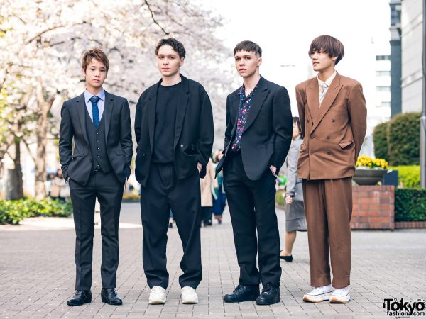 Bunka Fashion Student Styles w/ Vintage Suit, Hare, Monkey Time, Gucci, Kurumi, H&M, JW Anderson x UNIQLO, Nike & Reebok
