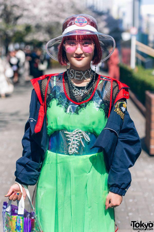 Colorful Tokyo Street Styles w/ Ombre Hair, Kobinai, Romantic Standard, Punk Cake, New York Joe & Never Mind the XU 3