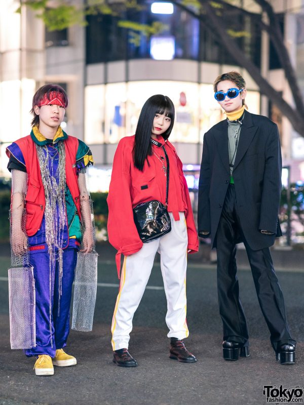 Japanese Streetwear w/ Remake Metal Sleeves, Paper Clips Necklace, Focus, Eytys, Codona De Moda, Warp, Never Mind the XU & Mom I Love Fashion Platforms