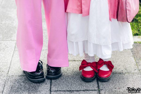 Pink Tokyo Streetwear Styles w/ Metal Vampire Fangs, M.Y.O.B., Pink House, Kobinai & Vivienne Westwood, 10