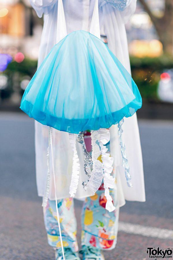 Kawaii Harajuku Girl Squad Street Styles w/ Pink Hair, Sheer Pastel Fashion, San To Nibun No Ichi, Kinji Resale & Cabbage Patch Doll 24