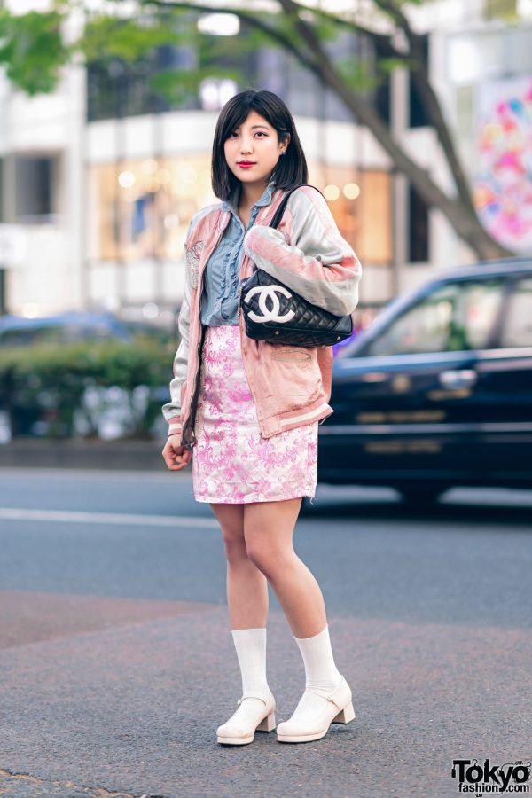 Kawaii Harajuku Girl Squad Street Styles w/ Pink Hair, Sheer Pastel Fashion, San To Nibun No Ichi, Kinji Resale & Cabbage Patch Doll 6
