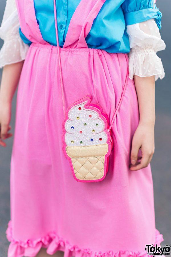 Kawaii Harajuku Girl Squad Street Styles w/ Pink Hair, Sheer Pastel Fashion, San To Nibun No Ichi, Kinji Resale & Cabbage Patch Doll 12